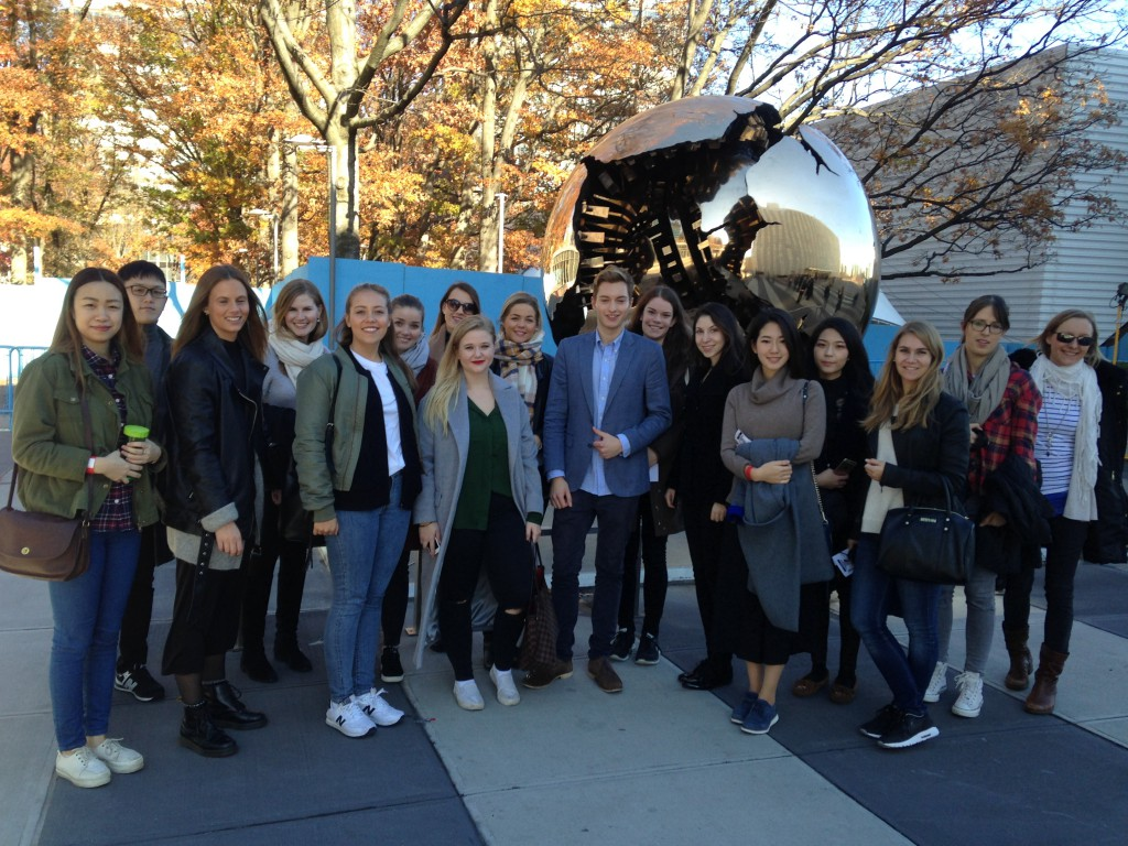 Glade studerende USA study arboad fantastisk fællesskab