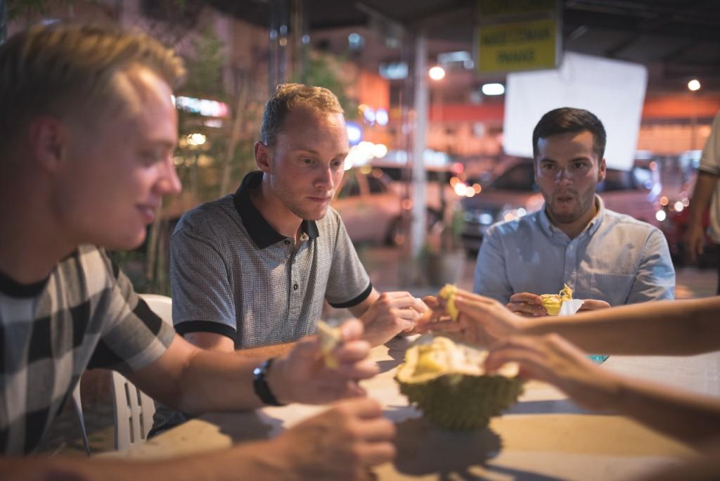 hyggelig aftensmad studie i udlandet malaysia